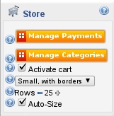 Configure the online store