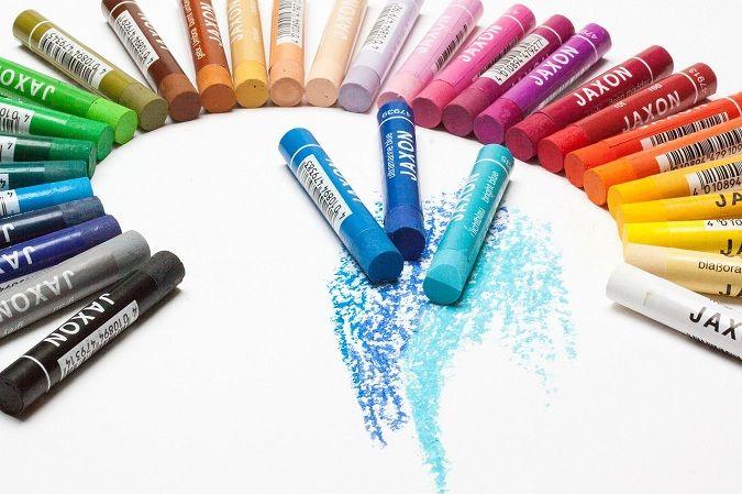 elegir los colores en el círculo cromático