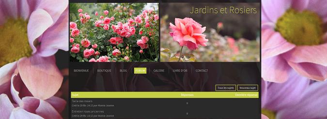 Creer un forum pour ajouter facilement du contenu au site
