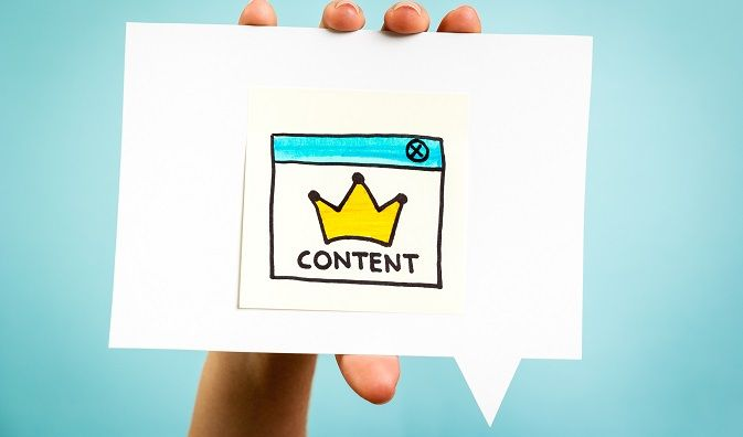 Create a content curation