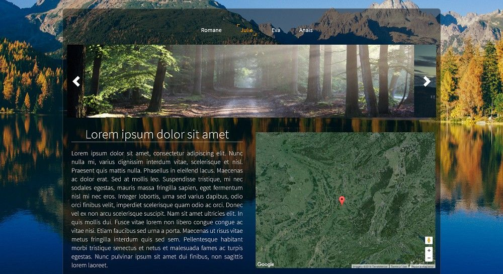 exemple de webdesign