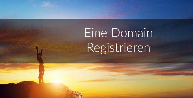 Eine Domain für meine Website mieten