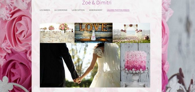 Creer une galerie photos en ligne pour son mariage
