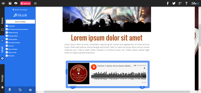 ein Playlist auf Ihrer Website erstellen