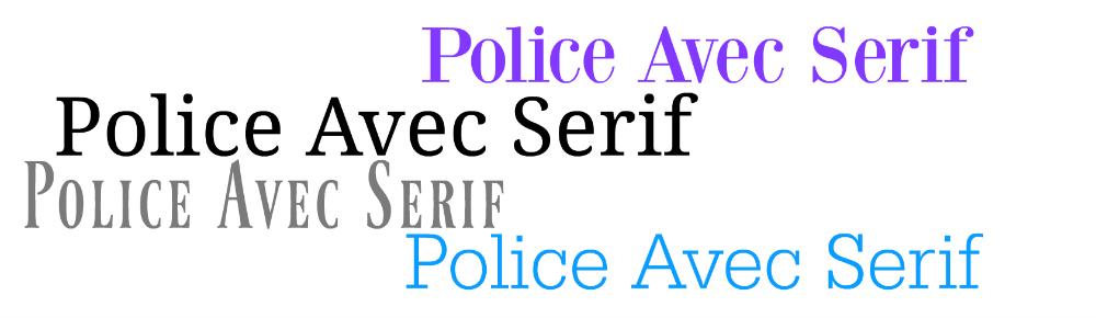 Police Serif