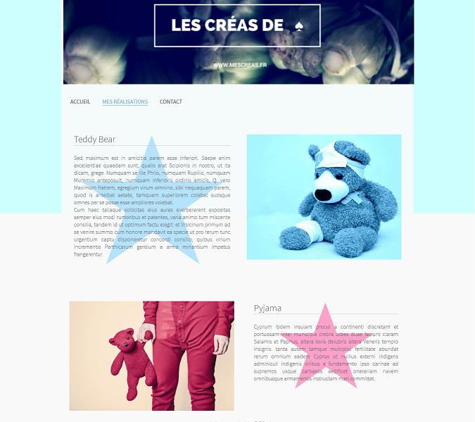 site design personnalise