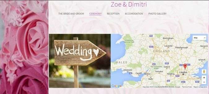 You will see how creating a wedding website with SiteW can make your wedding planning easier
