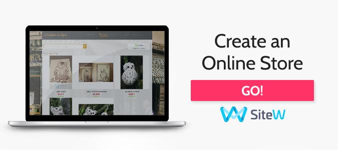 create a webstore