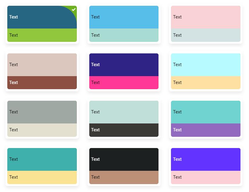 sitew popular palette