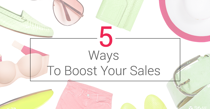 Boost your online sales