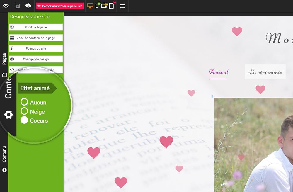 Comment créer un site animé