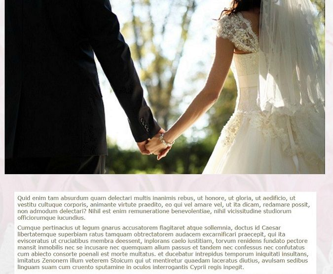 SiteW helps you to create beautiful wedding websites by giving you tips