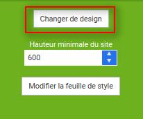 changer design site internet