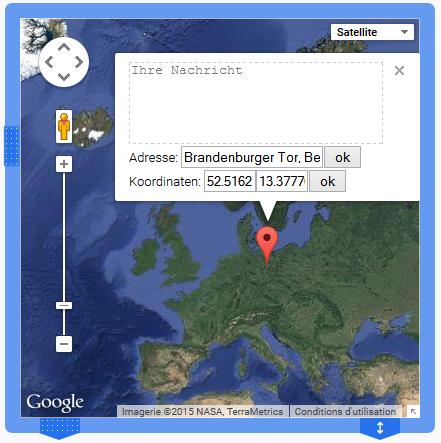 eine Website Karte erstellen
