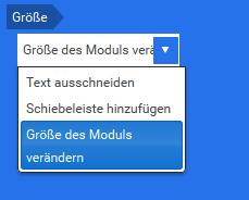 Text Modul hinzufügen