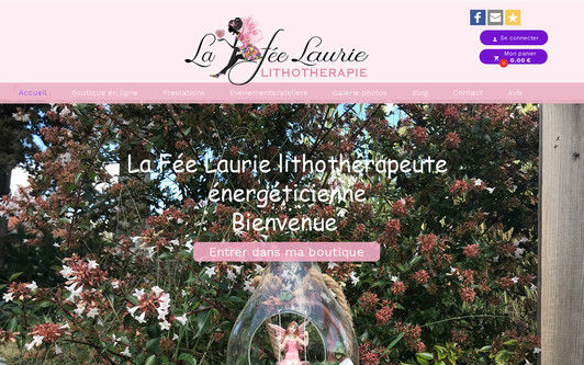 Site exemple La Fée Laurie