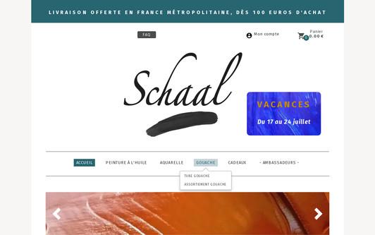 Site exemple Peinture à l'huile SCHAAL