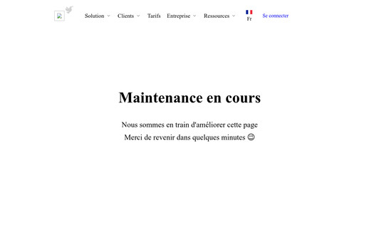 Example website Atelier VideAu