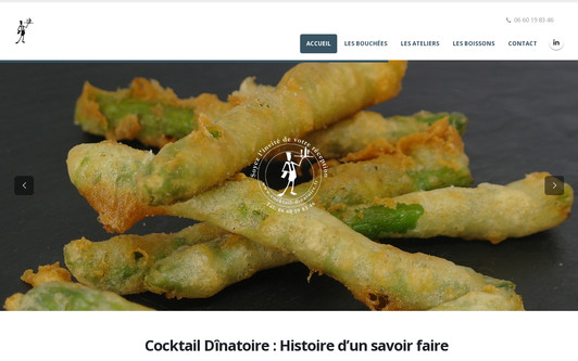 Site exemple cocktails-dînatoire-bordeaux