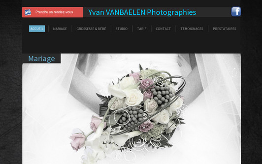 Example website photographe mariage