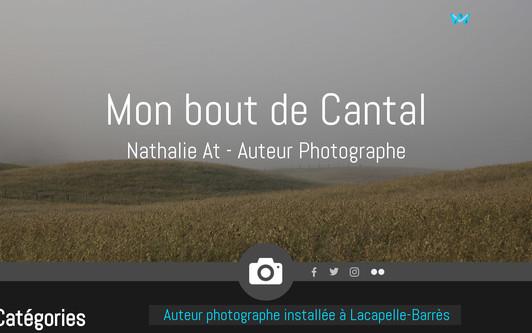 Ejemplo de sitio web Mon bout de cantal