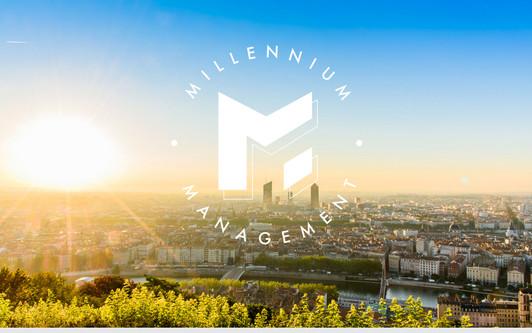 Ejemplo de sitio web Millennium Management