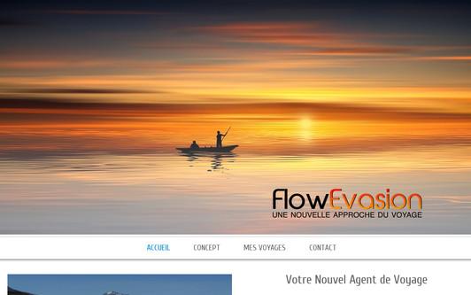 Site exemple FlowEvasion, votre nouvel agent de voyage