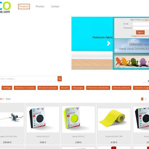 Création site internet en ligne
