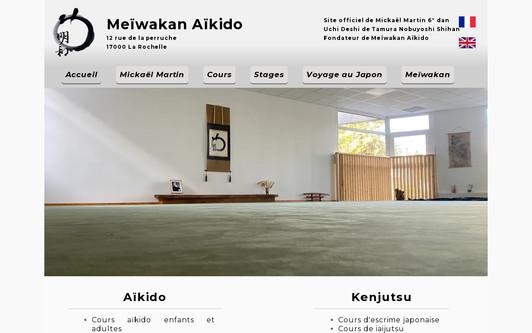 Ejemplo de sitio web Site officiel Meïwakan
