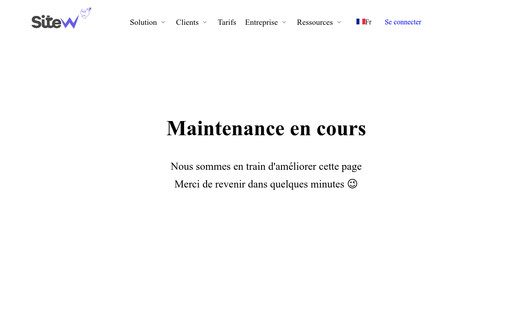 Example website Site officiel Meïwakan