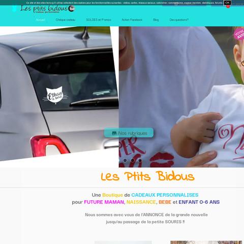 Crée un site de vente