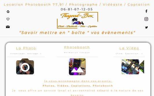 Example website Thegood87-Photographe