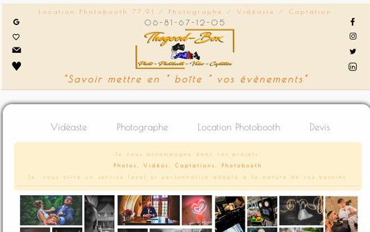 Ejemplo de sitio web Thegood87-Photographe