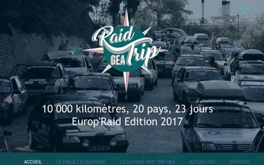 Ejemplo de sitio web Raid Trip GEA