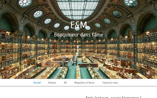 Ejemplo de sitio web E&M