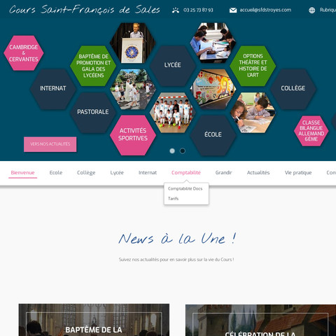 Créér un site