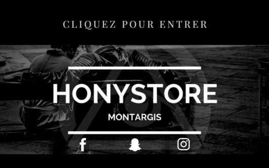 Site exemple HONYSTORE By HONY