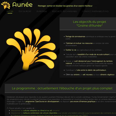Crear sitio web