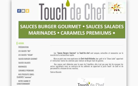 Example website Touch de chef