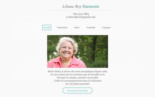 Ejemplo de sitio web LilianeRoy