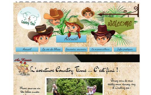 Ejemplo de sitio web Country Time