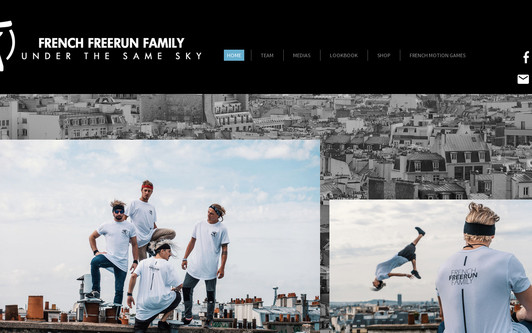 Example website French Freerun Family