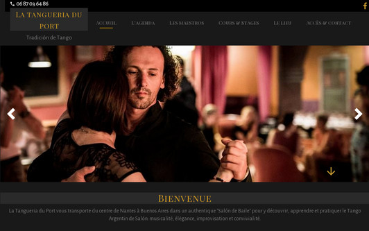 Site exemple Tango à Nantes