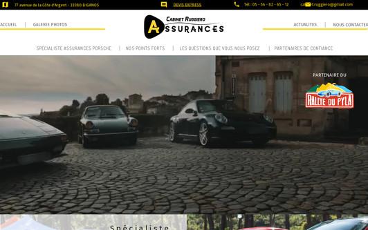 Example website Cabinet RUGGIERO Assurances