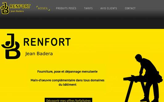Ejemplo de sitio web JB - Renfort