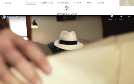 Site exemple Springer & Fersen