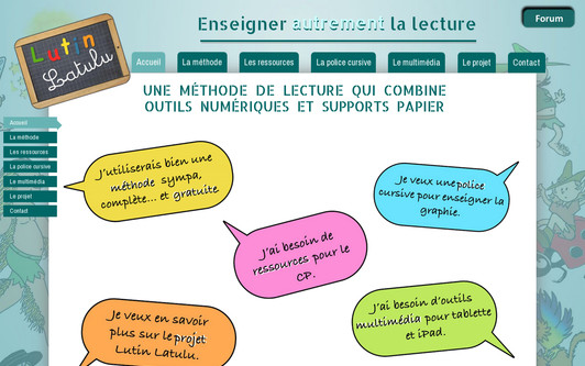 Site exemple lecture-cp