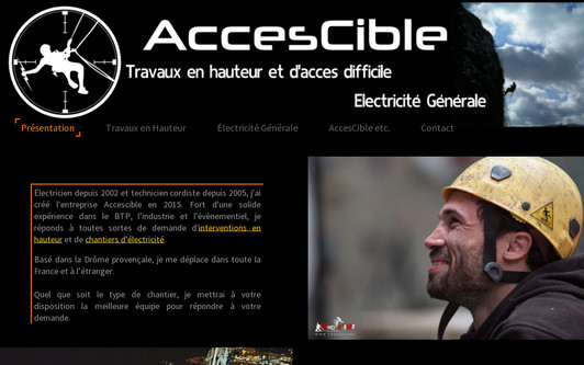 Example website AccesCible