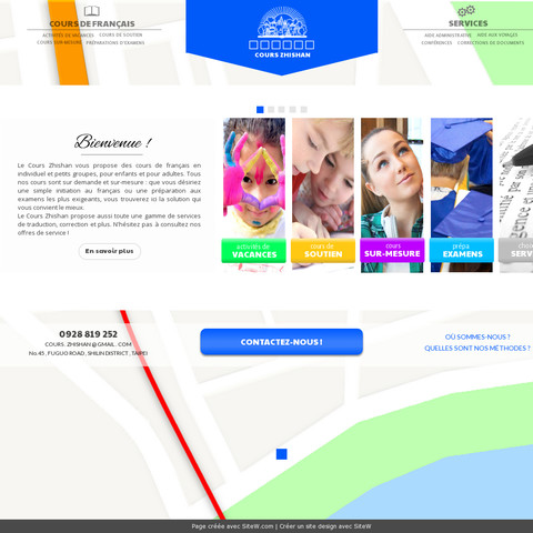 Créer site web gratuit