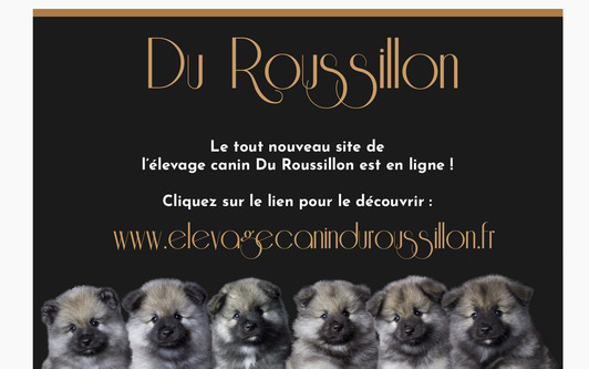 Site exemple Elevage Canin Du Roussillon